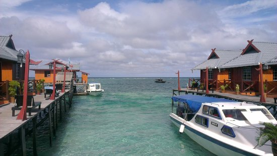 Billabong Scuba Homestay: The ocean