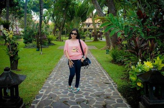 Ramada Bintang Bali Resort: taman