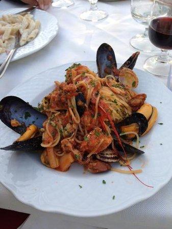 Ristorante Pizzeria Santa Maria: Pasta fruti de Mare