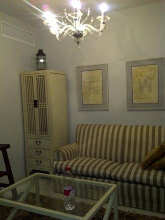 Corral de San Jose: living area in bedroom