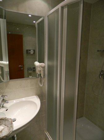 Hotel Troja: Ванная