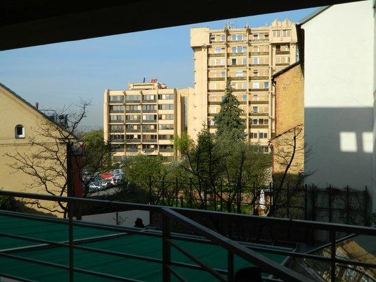 Hotel Troja: вид из номера