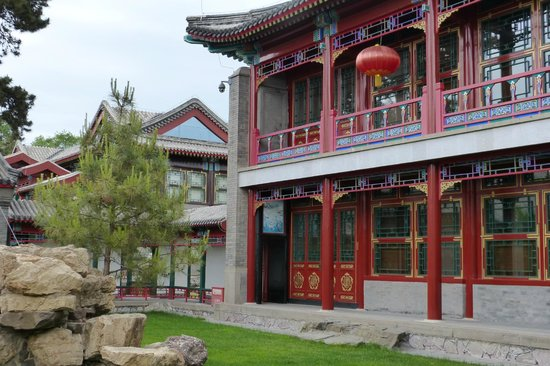 Chengde Imperial Mountain Resort: Central building detail