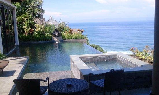 Banyan Tree Ungasan Pool Villa Cliff Edge Ocean View Picture
