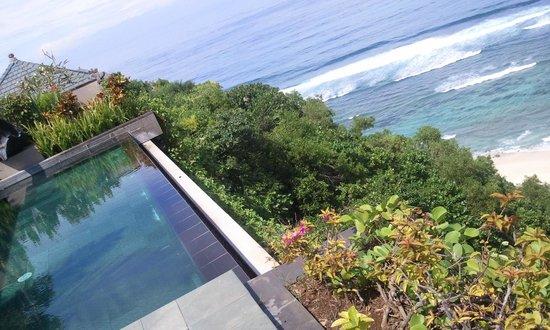 Banyan Tree Ungasan Pool Villa Cliff Edge Ocean View Bild Von