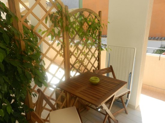Bed and Breakfast Il Patio: Terrazzino