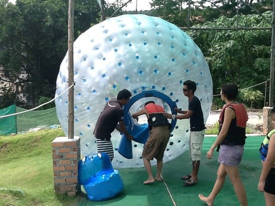 Zorbing Phuket Rollerball Thailand Located Minutes From - Where is thailand located