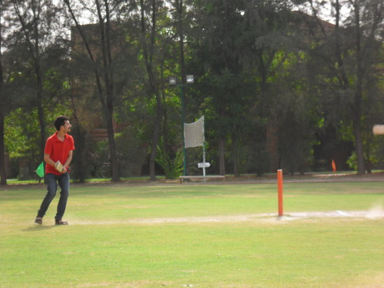 Westin Sohna Resort and Spa: Cricket Ground