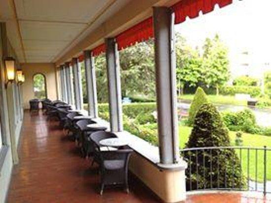 Grand Hotel Europe: Patio
