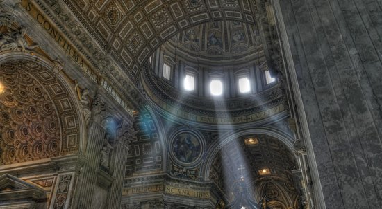 Through Eternity Cultural Association: The dome of St. Peter's Basilica, Rome