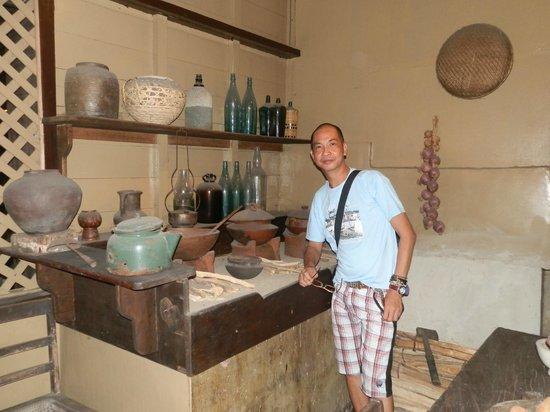 "1730 Jesuit House: this is the ""kusina"" (kitchen)"