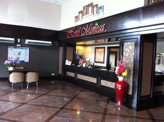 Mimosa Hotel: Lobby.