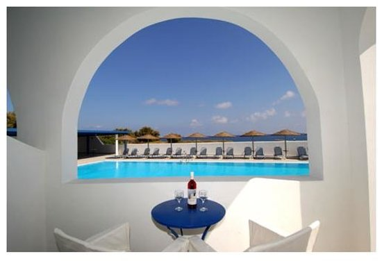 Blue Bay Villas : Terrace view