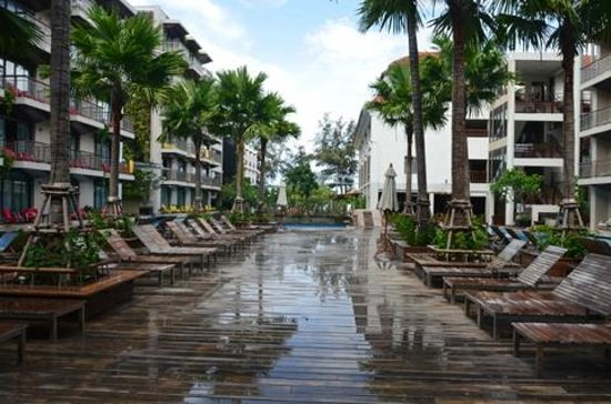 Baan Laimai Beach Resort: Зона отдыха