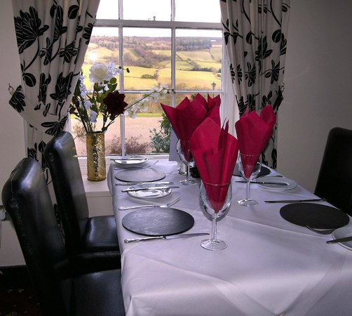 White Horse Farm Inn : Restaurant View