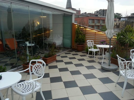 Istanbul Amedros Home : Roof top Terrace