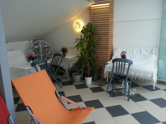 Istanbul Amedros Home: Roof top Terrace