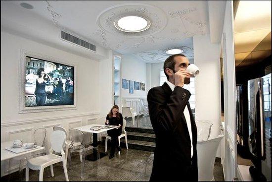 Best Western Hotel Plaza : Hospitality Bar- Caffetteria gratuita