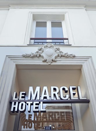 Hotel Le Marcel : hotel exterior