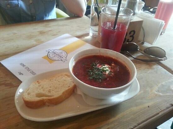 Biblioteka: borsch soup