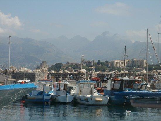 B&B Sicilio: the dock of Porticello