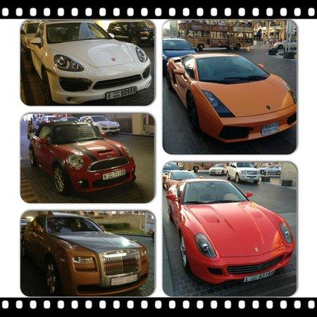 Comfort Inn Hotel: Такие машины в Дубаи не роскошь - это средство передвижения