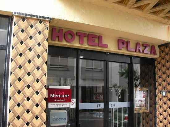 Mercure Biarritz Centre Plaza : post