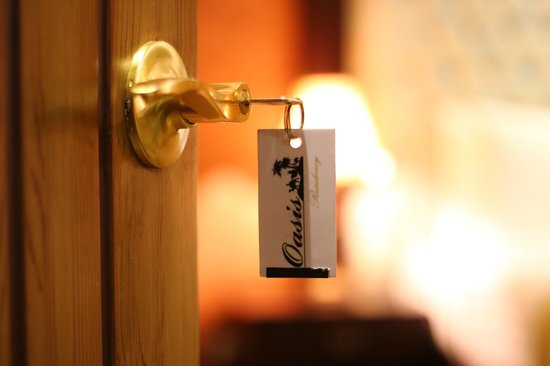 Oasis Residency: Key Tag