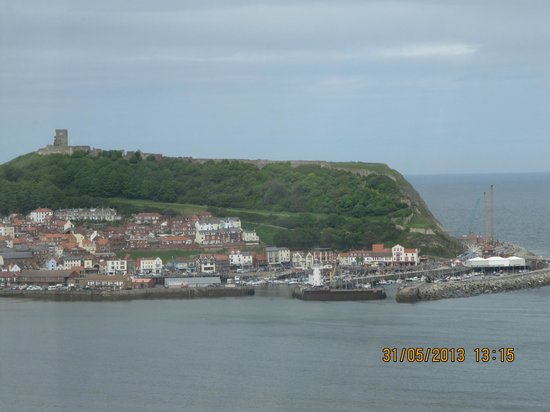 Mansion House Scarborough : South bay Scarborough, view from window Room 18