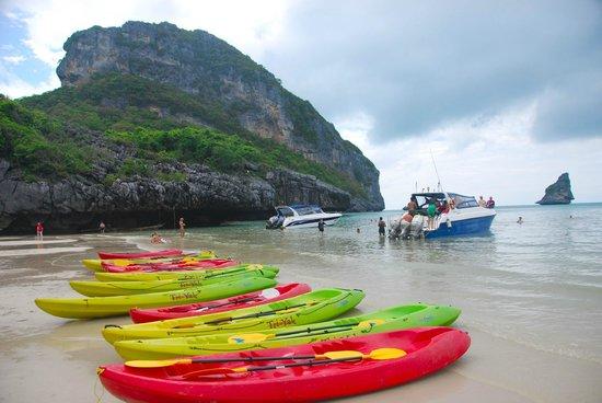 อ่างทอง, ไทย: Ang Thong National Marine park