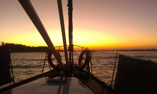Port Sail Charters: sunset