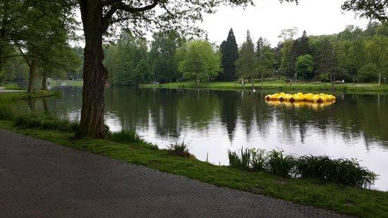 Deutsch-Französischer Garten: The calm, beautiful lake.