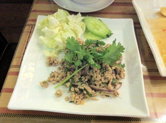 Thailanna: Thai Lanna Laab Gai (part of dinner set)