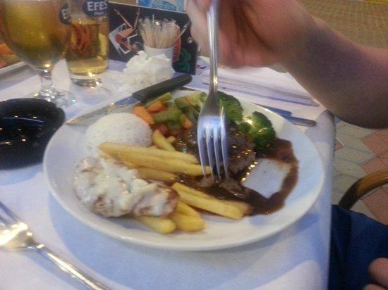 Florida Restaurant & Bar: Pepper Steak and Chips