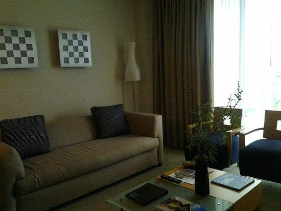 Marenas Beach Resort: Living room