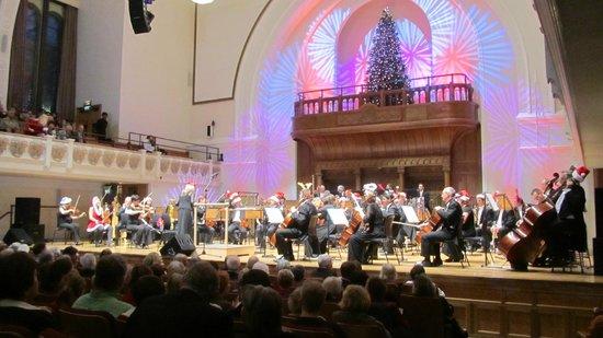 Cadogan Hall in festive mood 22nd December 2012