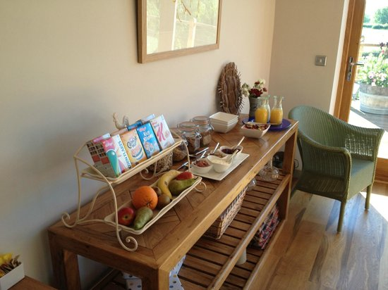 Shropshire Hills Bed and Breakfast: A small part of the breakfast on offer