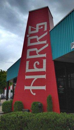Herr's Snack Factory Tour : Main enterance