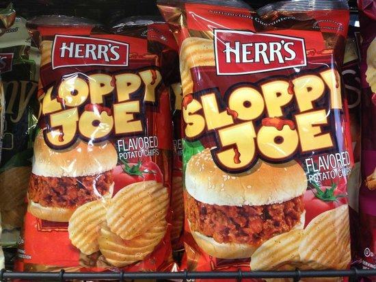 Herr's Snack Factory Tour: Sloppy Joe