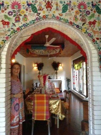 Kikili House : Our lovely host Henri