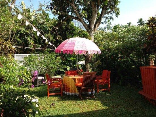 Kikili House : The garden