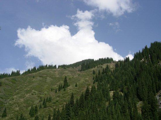 Kolsai Lakes: Горы