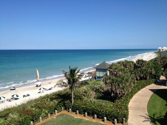 Disney's Vero Beach Resort: View from our balcony, room 2417 is a great room with a huge balcony.