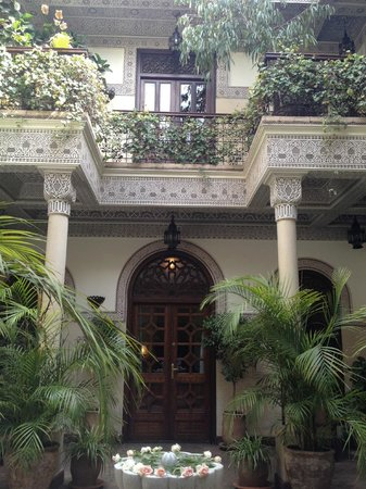 La Villa des Orangers - Hôtel: Courtyard