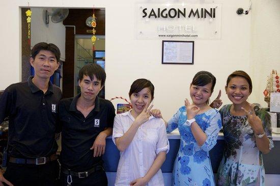 Saigon Mini Hotel 5: ホテルスタッフ