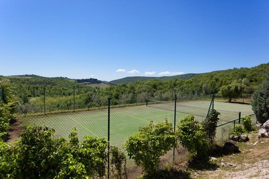 Castello di Spaltenna Exclusive Tuscan Resort & Spa: Tennis Court