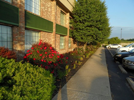 Clarion Hotel Conference Center South : Very nice landscaping