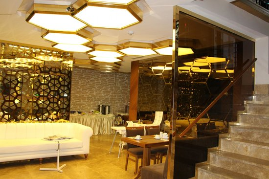 "Nowy Efendi Hotel ""Special Class"" : Reception and dining area"