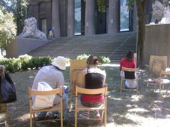 National Art Museum of Ukraine: Museum plein air