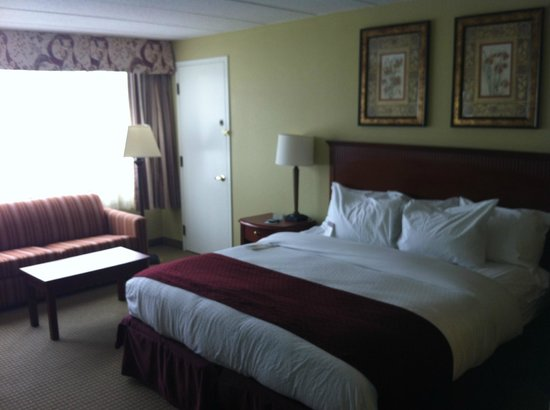 Doubletree by Hilton Charlottesville: King Room Non-Smoking